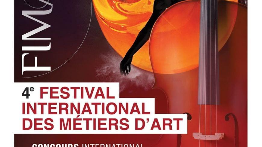 Affiche FIMA Festival métiers d'art de Baccarat