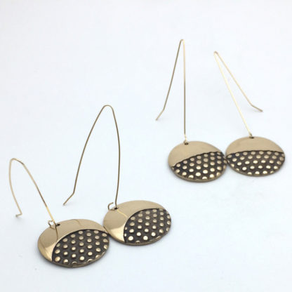 Boucles d'oreilles en bronze